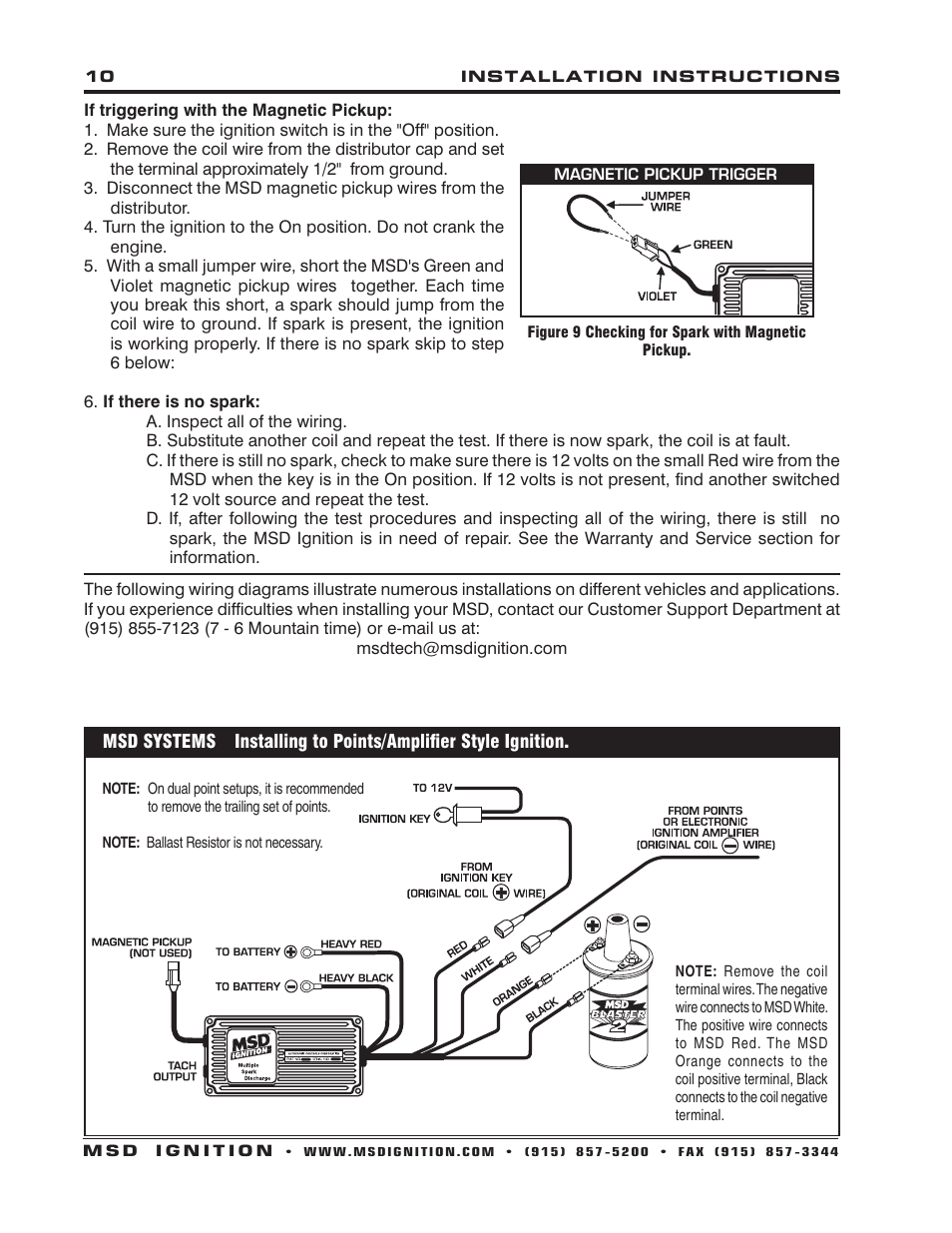 Msd 6a 3200 Wiring Diagram 6401 MSD Ignition Wiring Diagram Ford ...