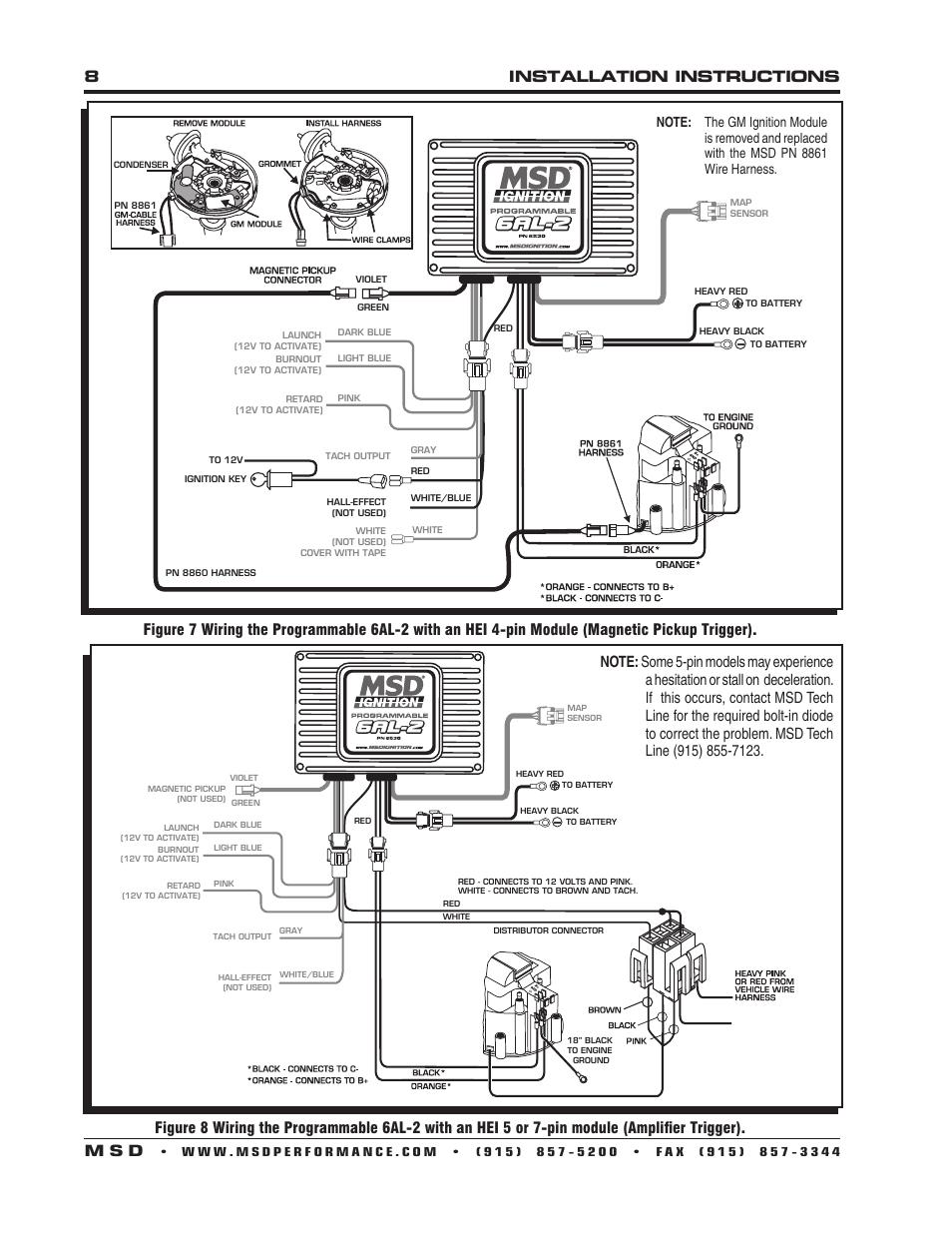 Fantastic Msd 6al 2 Wiring Diagram Ideas - Electrical System Block ...