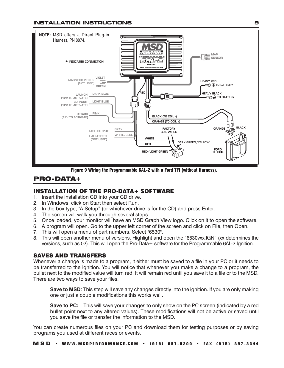 Delighted Msd 6al 2 Wiring Diagram Contemporary - Electrical ...