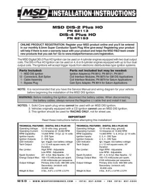 Msd Digital 7 Instructions  Digital Photos and Descriptions MagimagesOrg