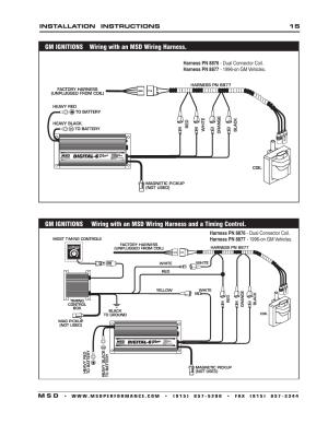 Msd Wiring Diagrams  Wiring Diagram And Schematics
