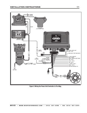 Installation instructions 11 m s d | MSD 7730 Power Grid System  Controller Only Installation