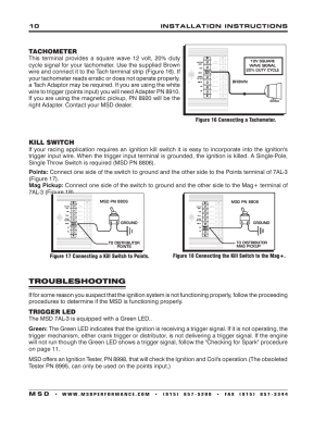 Troubleshooting | MSD 7330 7AL3 Ignition Control