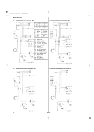 Wiring diagrams | Unique Industries Honda GX690 User Manual | Page 18  60