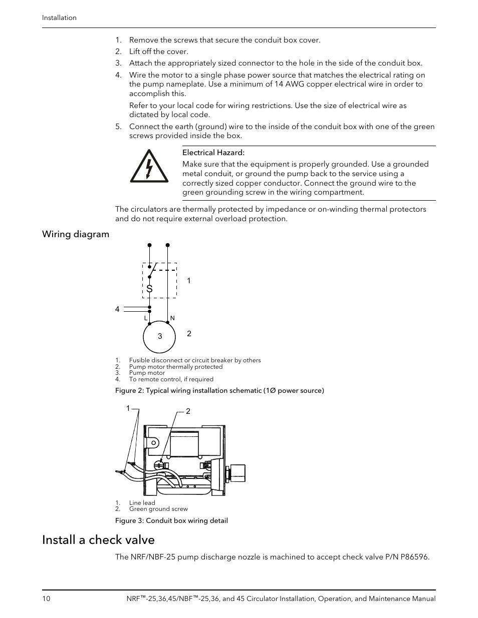 Wiring Diagram Install A Check Valve