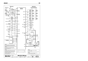 Ec mot, Motec 55, M4 ecu wiring | MoTeC M8 User Manual | Page 57  63