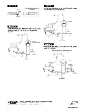 Figure 3, Figure 2, Distributor wire harness | Mallory Ignition ACCEL POINTS ELIMINATOR