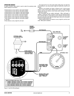 Mallory Ignition ACCEL Ignition 35496 User Manual | Page 3  8