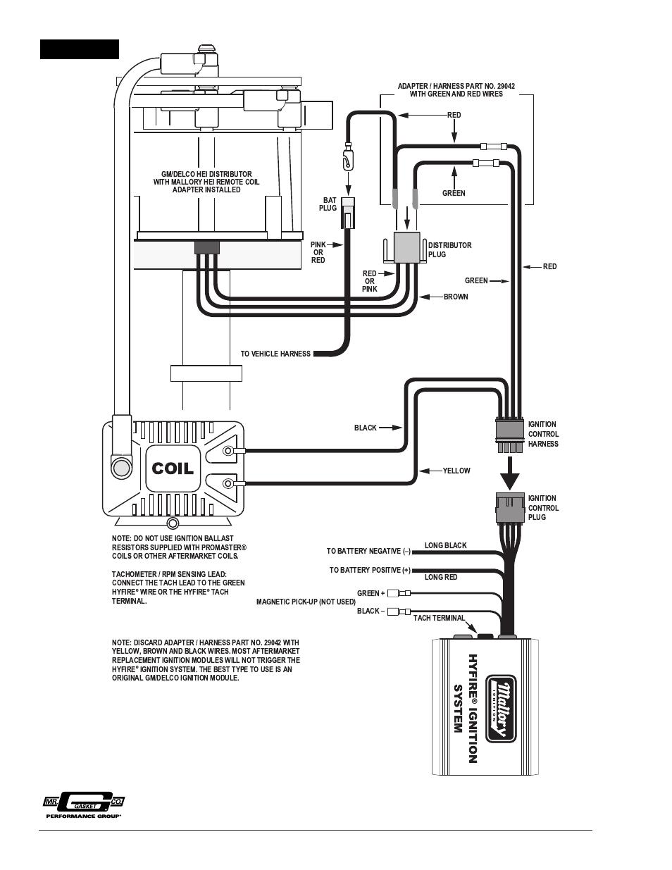Accel 59107 Hei Distributor Wiring Diagram Libraries Dist Simple Diagramsaccel Points Eliminator Third