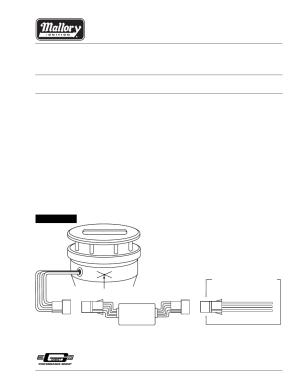 Mallory Ignition Mallory CIRCUIT GUARD 29371 User Manual