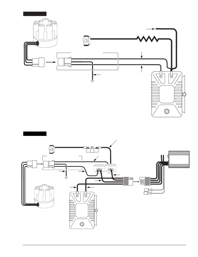 mallory unilite ignition wiring diagram wiring diagram ballast resistor wiring mallory unilite team aro tech