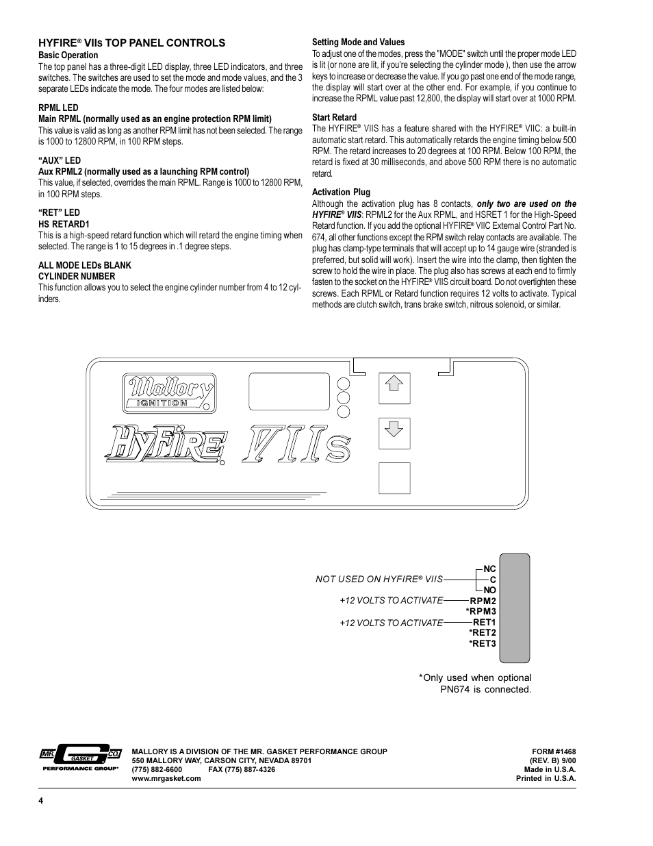 Accuspark Electronic Ignition Wiring Diagram 44 Mallory Diagrams Ford Hyfire Viis Sportsman Cd System 667s Page4resize665