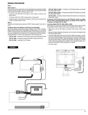 Wiring procedure, Figure 4, 12vbattery () | Mallory
