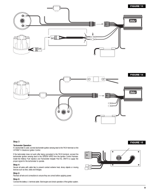 Breaker point distributor, Figure 13, Figure 14 | Mallory