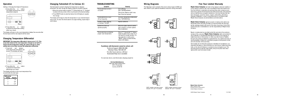 Robertshaw Thermostat Wiring Diagram – Luxaire Thermostat Wiring Diagram
