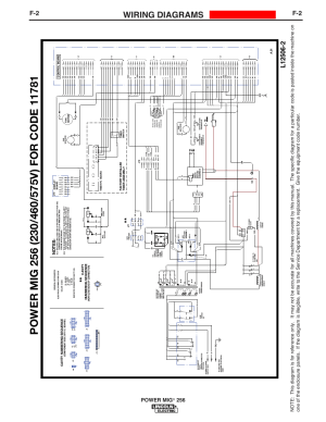 Wiring diagrams, Enhanced diagram, Power mig | Lincoln