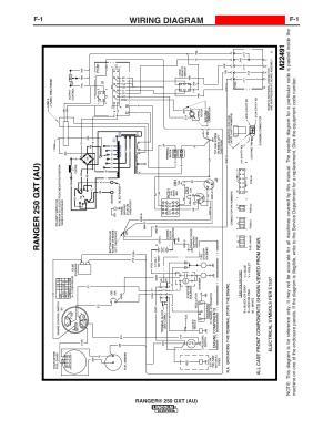 Wiring diagram | Lincoln Electric IM10052 RANGER 250 GXT
