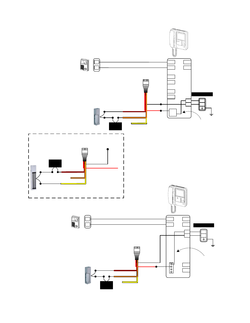 v2000 c door access manual