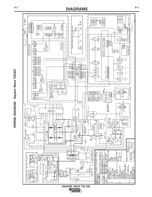 Diagrams, Wiring diagram  square w ave tig355, 2597c