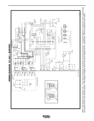 Diagrams, Cv400i, Wiring diagram cv 400i (europe