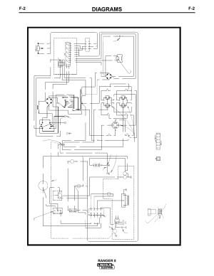 Diagrams, Ranger 8, Electrical symbols per e1537 | Lincoln