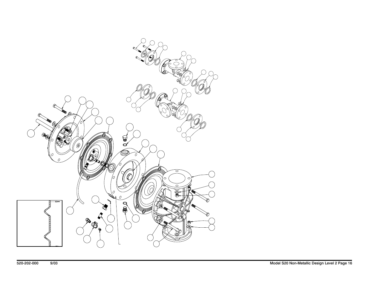 Sandpiper Diaphragm Pump Parts Diagram