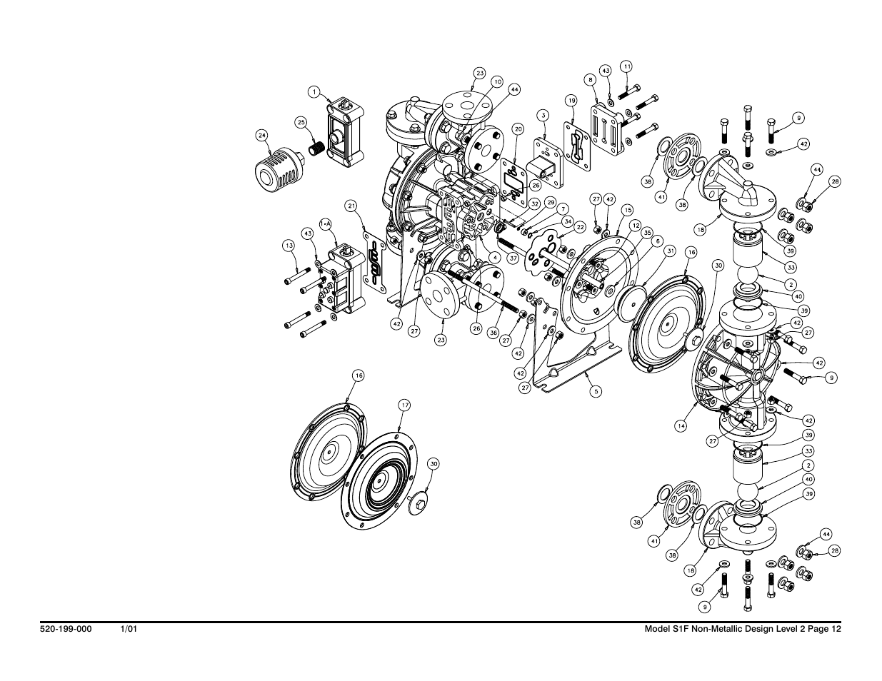 Composite Repair Parts Drawing Overlay Option Drawing