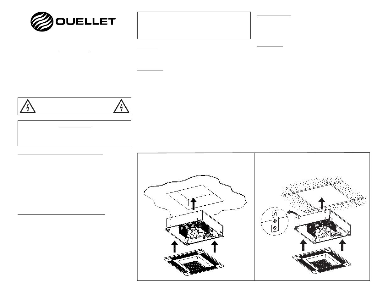 Ouellet Ods User Manual