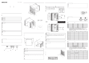 PATLITE BD User Manual | 2 pages