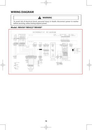 Wiring diagram | Samsung WA456DRHDWRAA User Manual | Page 18  60