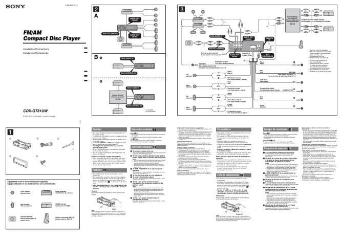sony cdx gt110 wiring diagram for full hd version diagram