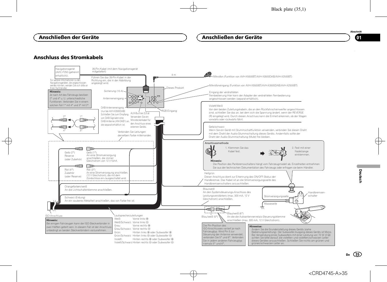 pioneer avh wiring harness diagram avh-p1400dvd car radio stereo audio autoradio connector p1400dvd  sc 1 st  Wiring Diagrams : pioneer fh x700bt wiring harness diagram - yogabreezes.com