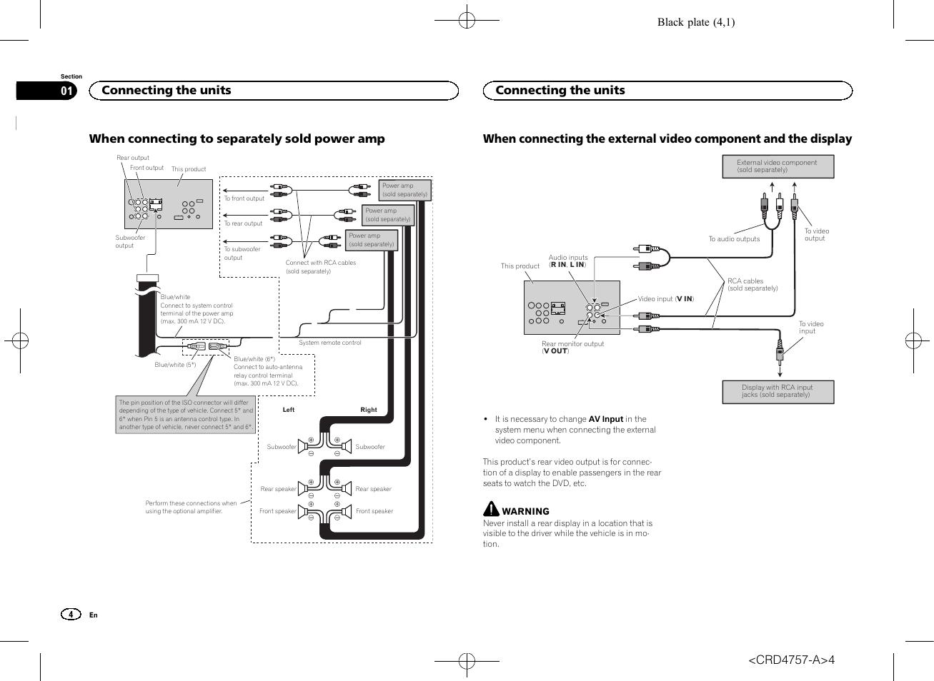 pioneer avh x5600bt page4?resize\\\\\\\=665%2C485 pioneer avh p6600dvd wiring diagram pioneer wiring diagrams pioneer avh p6300bt wiring diagram at gsmportal.co