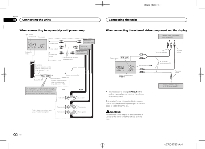 amazing pioneer avh-p3200bt wiring diagram pictures - images for, Wiring diagram