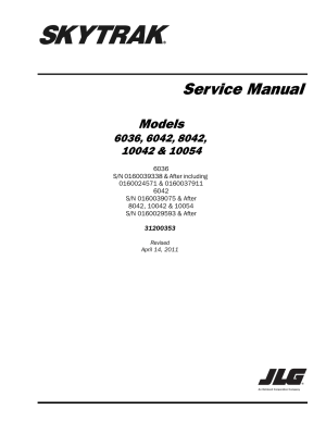 SkyTrak 8042 Service Manual User Manual | 230 pages | Also
