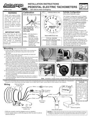 Auto Meter Phantom Tach Wiring Diagram | Wiring Library