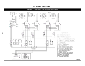 Wiring diagrams, U4187a | Bakers Pride EP22828 User