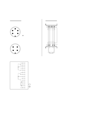 Operating keys on the membrane keypad, Pin connection, Wiring diagram | HYDAC ETS 1700 User