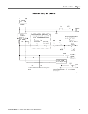 Schematic (using iec symbols) | Rockwell Automation 2080