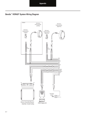 Bendix, Vorad, System wiring diagram | Bendix Commercial