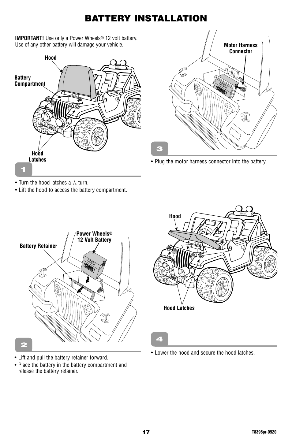 Barbie Jeep Wiring Harness Diagram on jeep hoses diagram, jeep wiring harness problem, ignition switch diagram, 93 jeep yj wiring diagram, 1990 jeep wiring diagram, jeep to chevy wiring harness, jeep tj instrument cluster wiring diagram, jeep distributor parts diagram, jeep wiring harness connector bulk, jeep cj7 wiring-diagram, jeep patriot hid headlights, jeep fuel tank diagram, 1965 jeep wiring diagram, 1973 jeep wiring diagram, jeep exhaust system diagram, 99 jeep tj wiring diagram, jeep horn diagram, jeep pulley diagram, jeep electrical diagram, jeep headlight diagram,