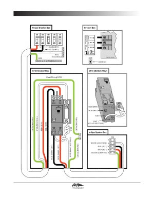 Gfci wiring diagram, Preparing for your new portable spa