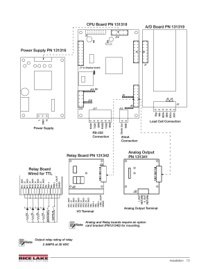 Relay board wired for ttl, Figure 24 wiring diagram