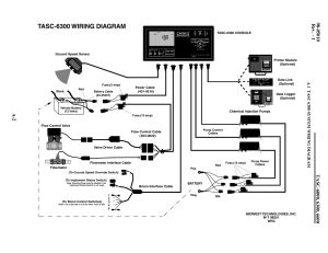 Tasc6300 wiring diagram | TeeJet TASC6600 User Manual | Page 48  78
