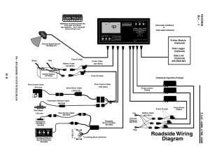 Roadside wiring diagram, D4  roadside system diagram, Chemical injection pumps | TeeJet TASC
