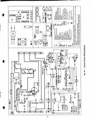 Fig 14 — typical 3phase wiring diagram, 1 co o) | Carrier 48NLT User Manual | Page 15  27