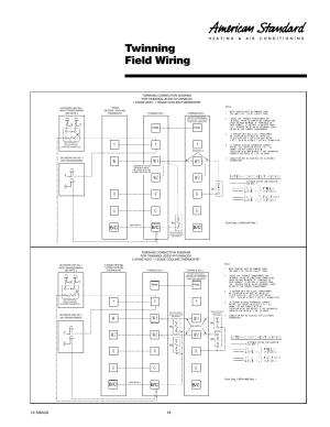 Twinning field wiring | American Standard Freedom 80 User