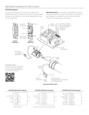Da Lite Motorized Screen Wiring Diagram  impremedia