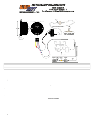 GlowShift Boost & EGT Combo Gauge User Manual | 3 pages