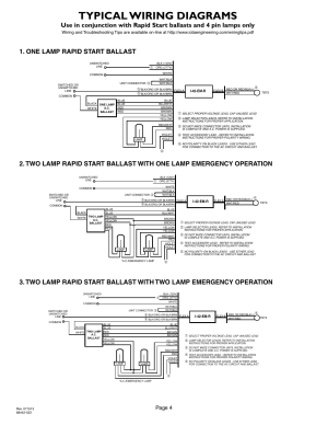 Typical wiring diagrams, Page 4 | IOTA I42EMR User Manual | Page 4  4